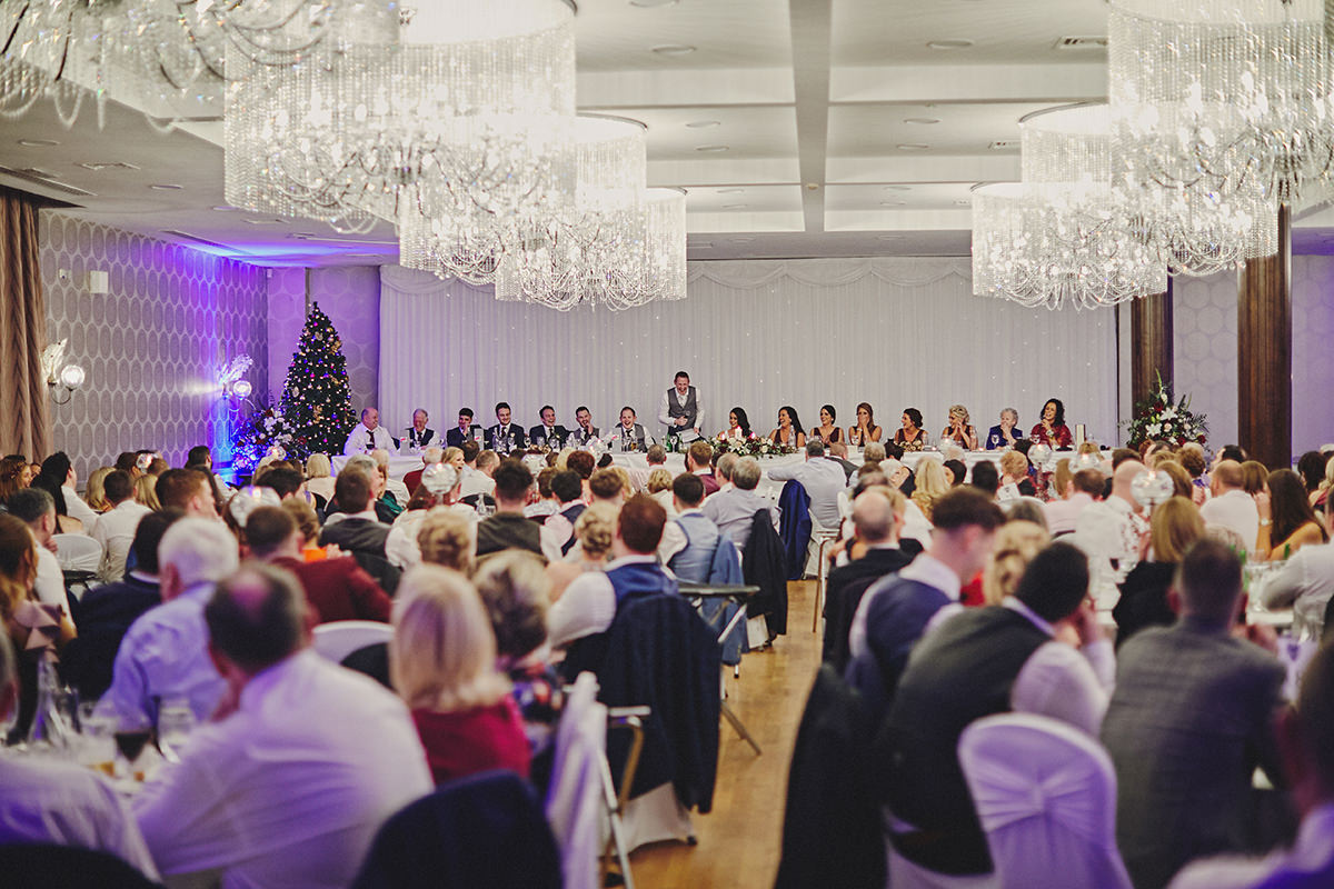 Irish Winter Wedding | Cavan Crystal Hotel 116