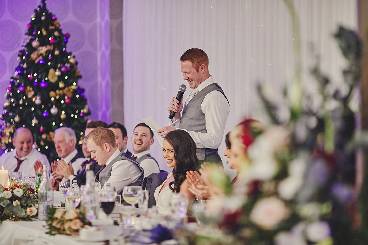 Irish Winter Wedding | Cavan Crystal Hotel 118