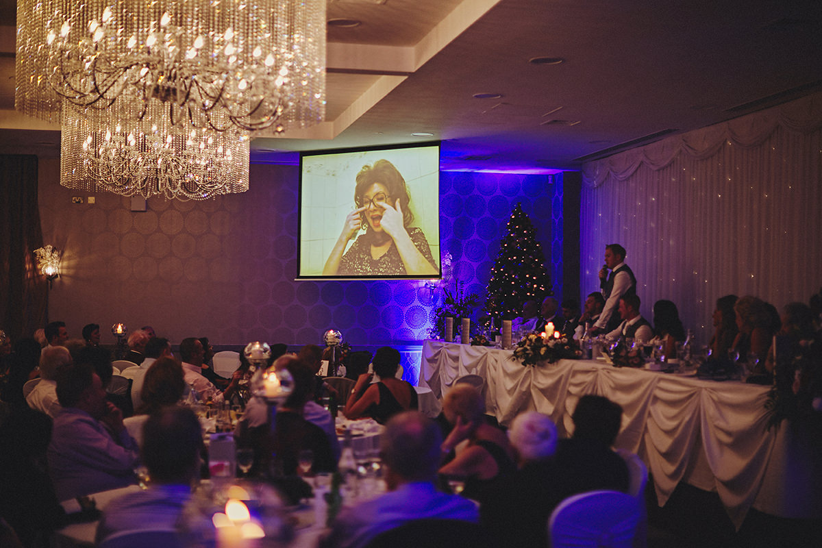 Irish Winter Wedding | Cavan Crystal Hotel 121
