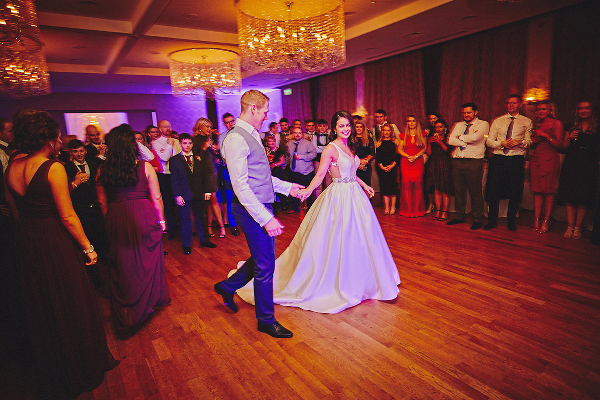 Irish Winter Wedding | Cavan Crystal Hotel 127