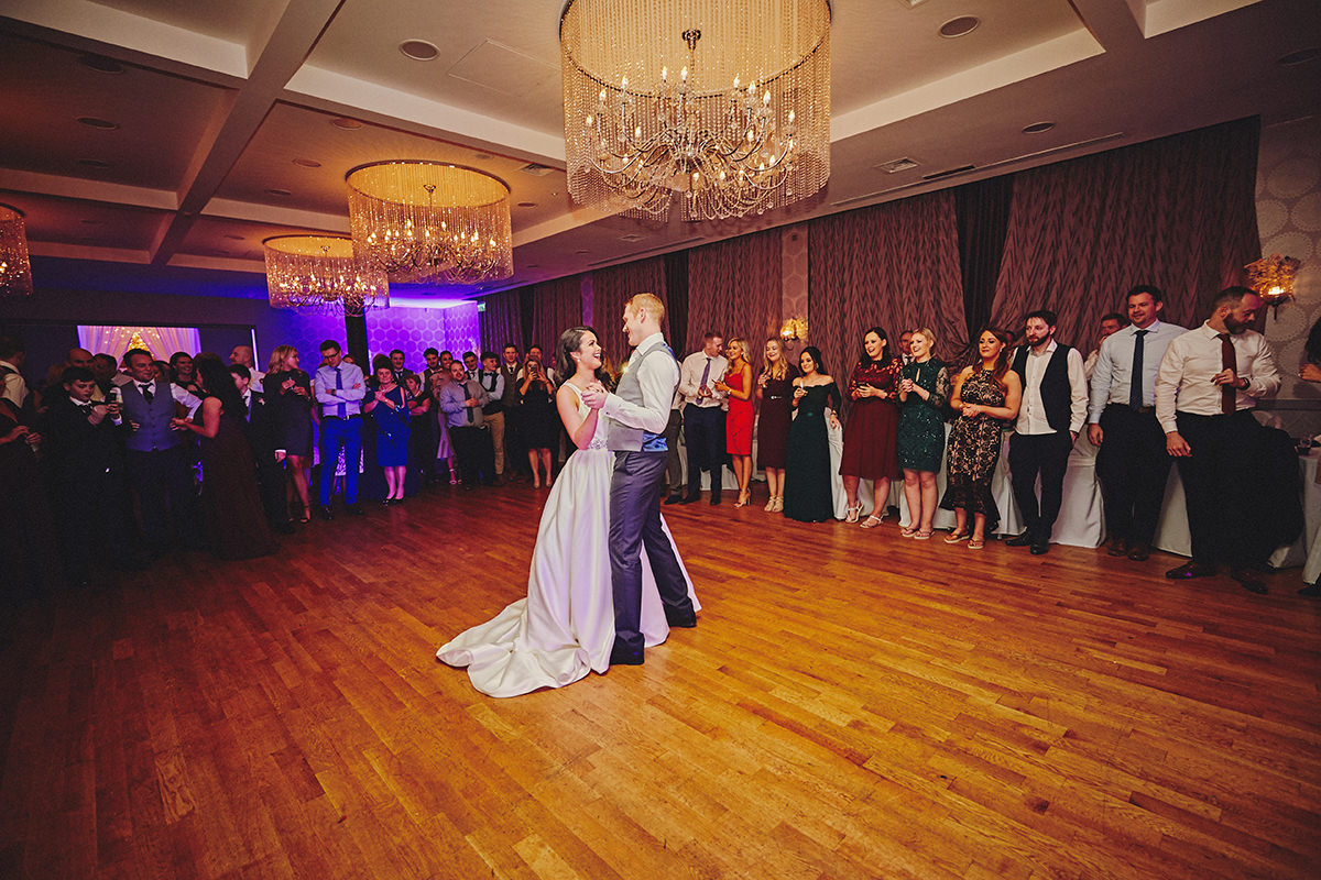 Irish Winter Wedding | Cavan Crystal Hotel 128