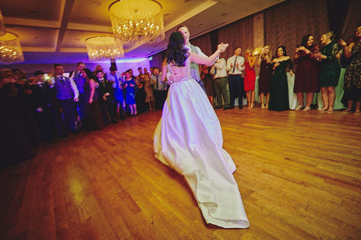 Irish Winter Wedding | Cavan Crystal Hotel 129