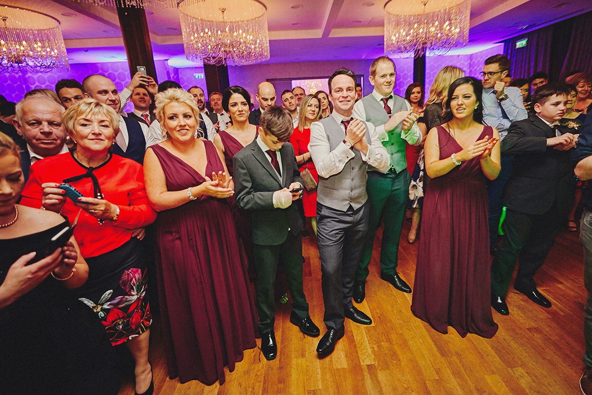 Irish Winter Wedding | Cavan Crystal Hotel 130