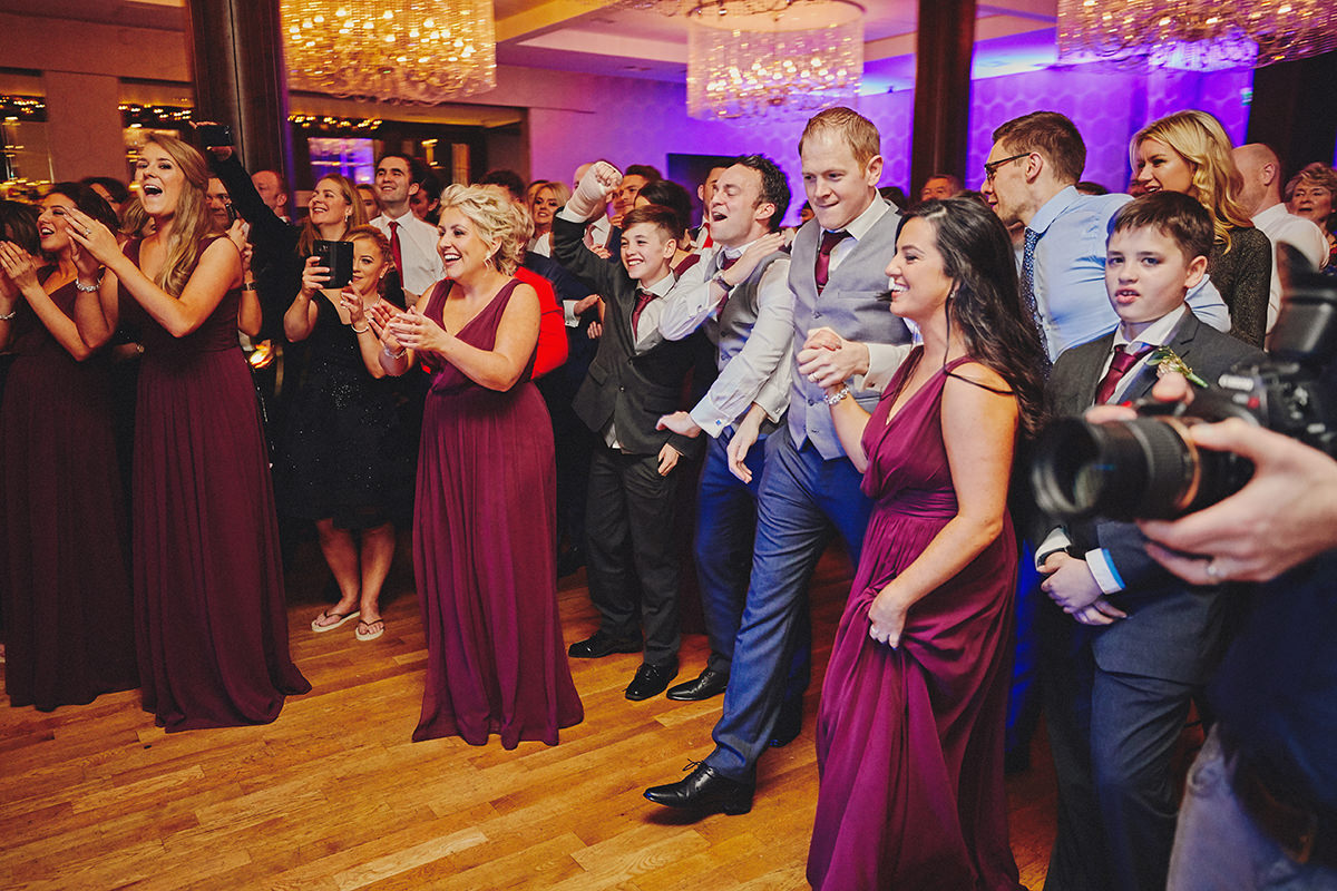 Irish Winter Wedding | Cavan Crystal Hotel 131