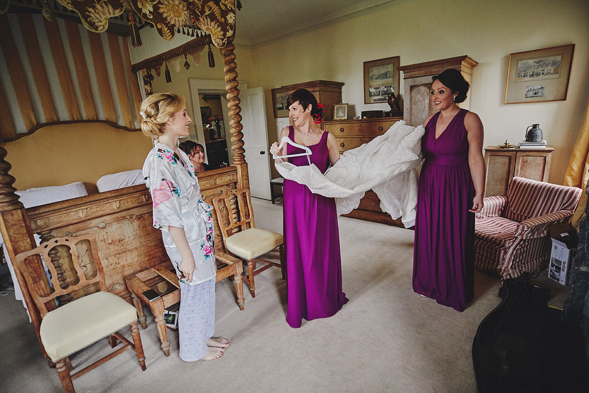 Lisnavagh House beautiful autumn wedding 30