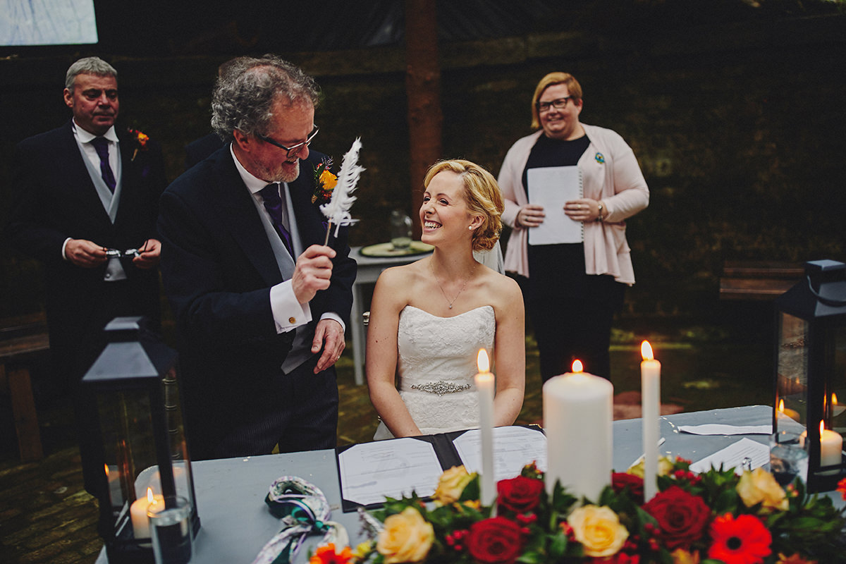 Lisnavagh House beautiful autumn wedding 71