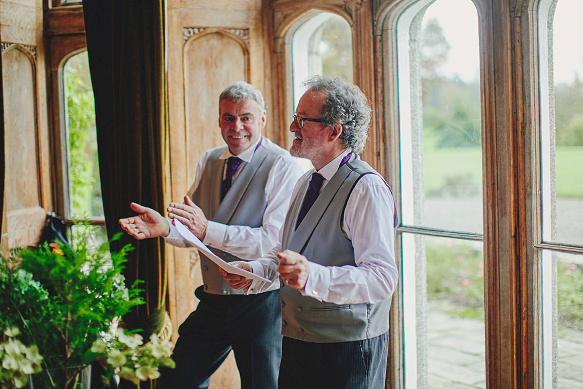 Lisnavagh House beautiful autumn wedding 87