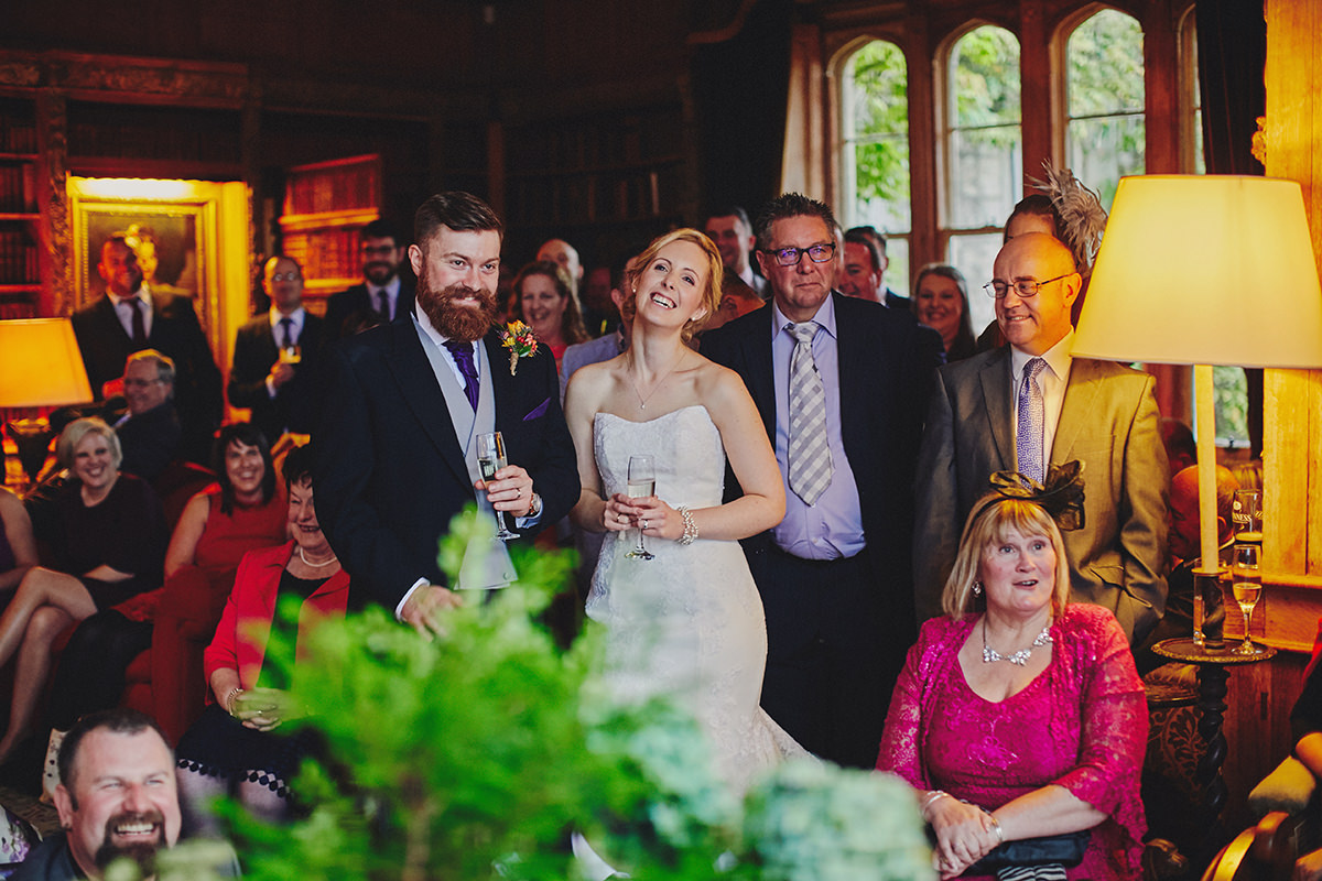 Lisnavagh House beautiful autumn wedding 89