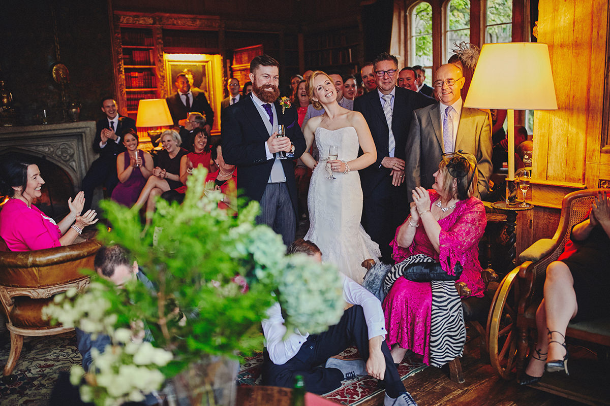 Lisnavagh House beautiful autumn wedding 93