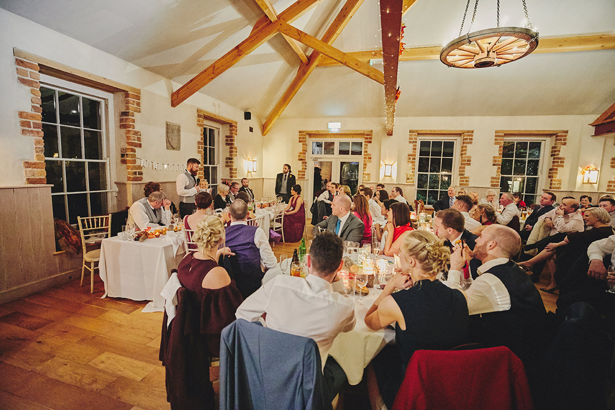 Lisnavagh House beautiful autumn wedding 116