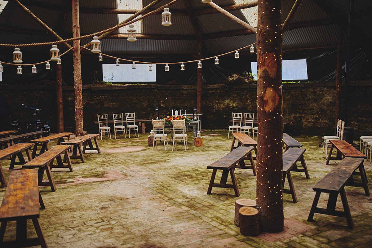 Dreaming of a Rustic Barn Wedding? - Lisnavagh House 2