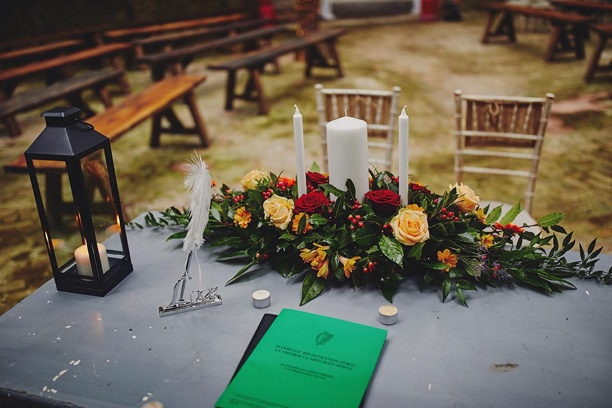 Rustic Barn Wedding Lisnavagh House04 - Dreaming of a Rustic Barn Wedding? - Lisnavagh House