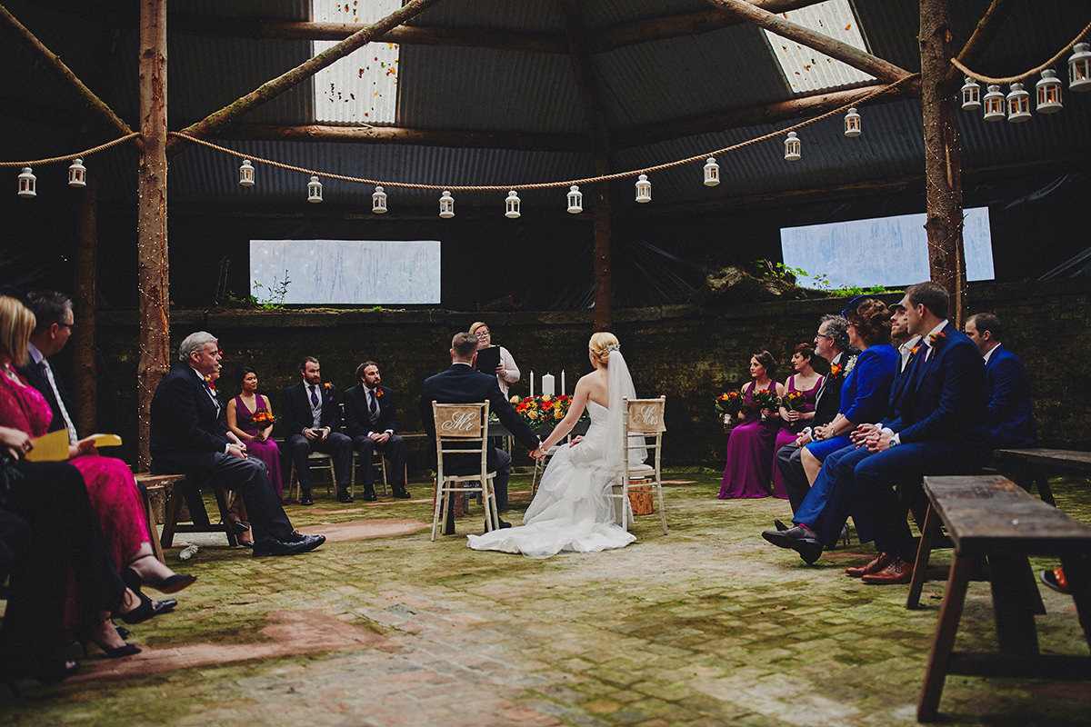 Rustic wedding Ireland