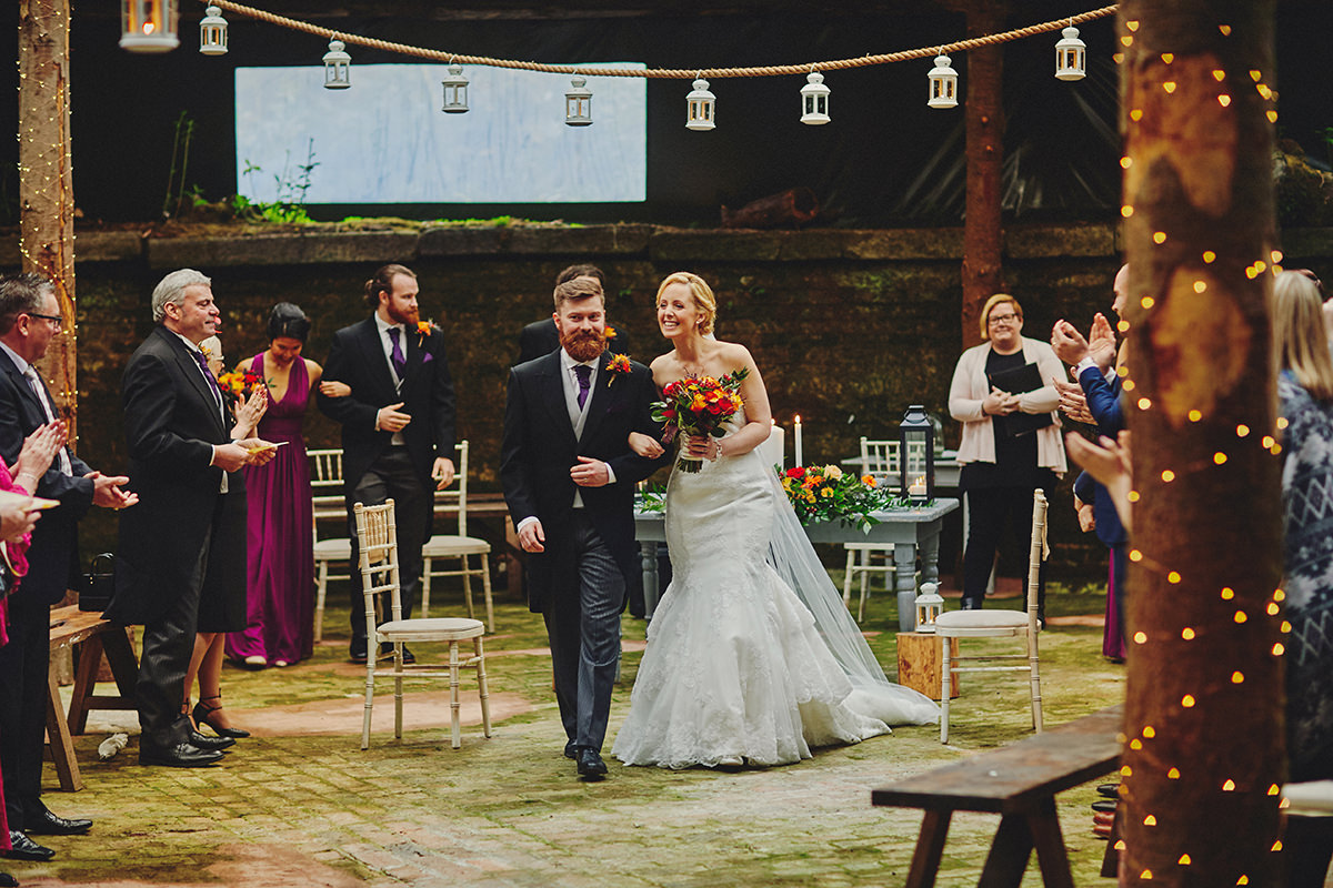 Barn wedding Ireland