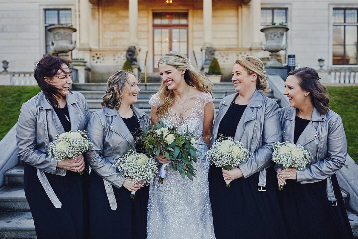 Winter Colour palette for Bridesmaid Dresses