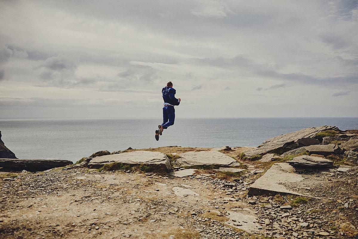 Superman jump