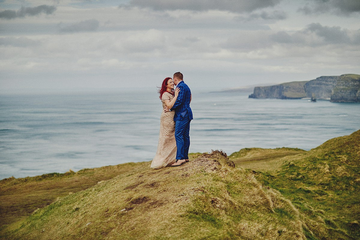 Engagement Photo Shoot Cliffs of Moher 3