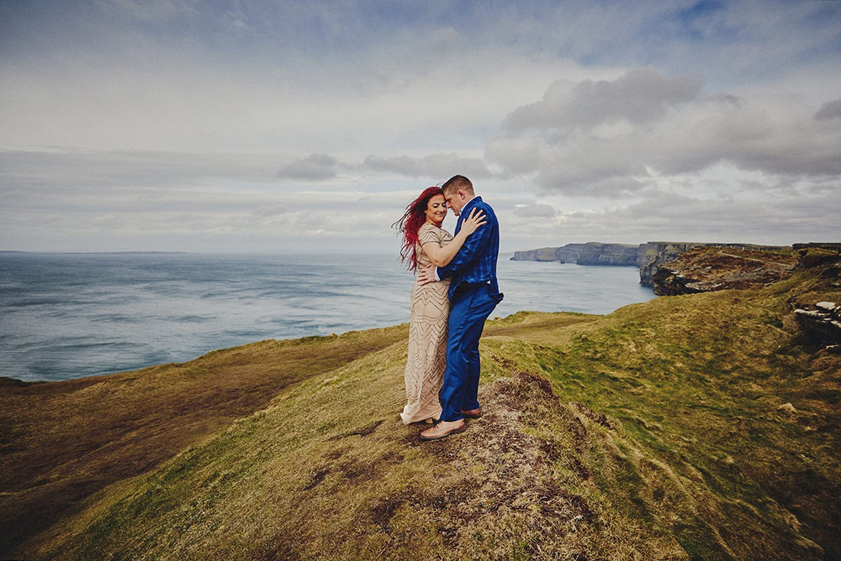 Engagement Photo Shoot Cliffs of Moher 6