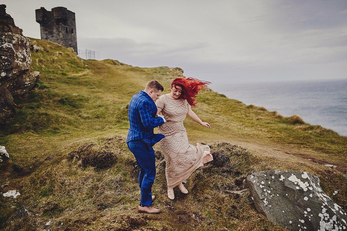 Engagement Photo Shoot Cliffs of Moher 7