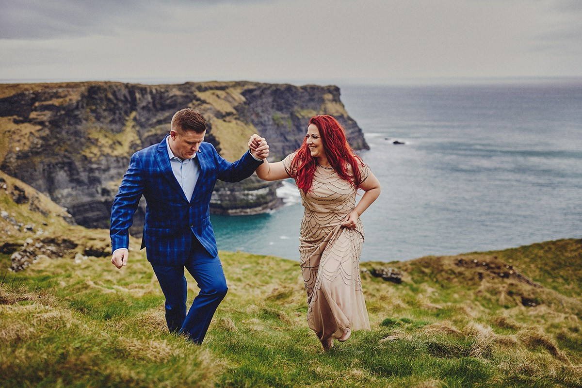Engagement Photo Shoot Cliffs of Moher 14