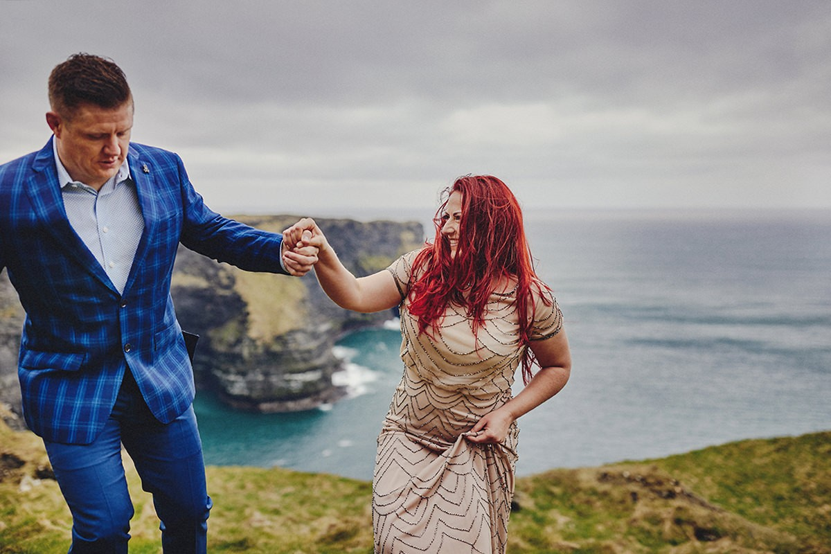 Engagement Photo Shoot Cliffs of Moher 15