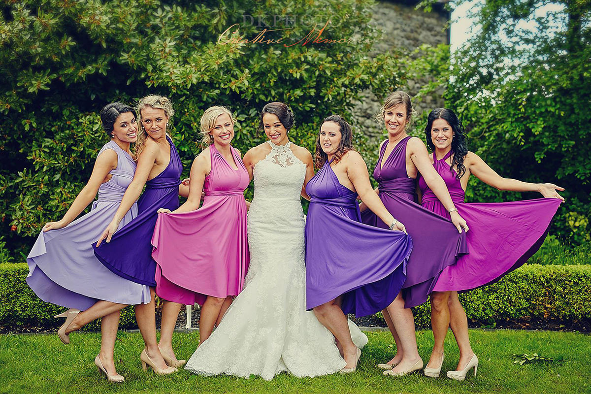 Choosing the colour palette for your Bridesmaid Dresses - DKPHOTO