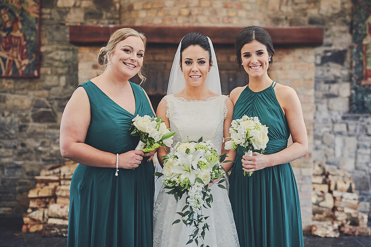 Bridesmaids green dresses - Choosing the colour palette for your Bridesmaid Dresses