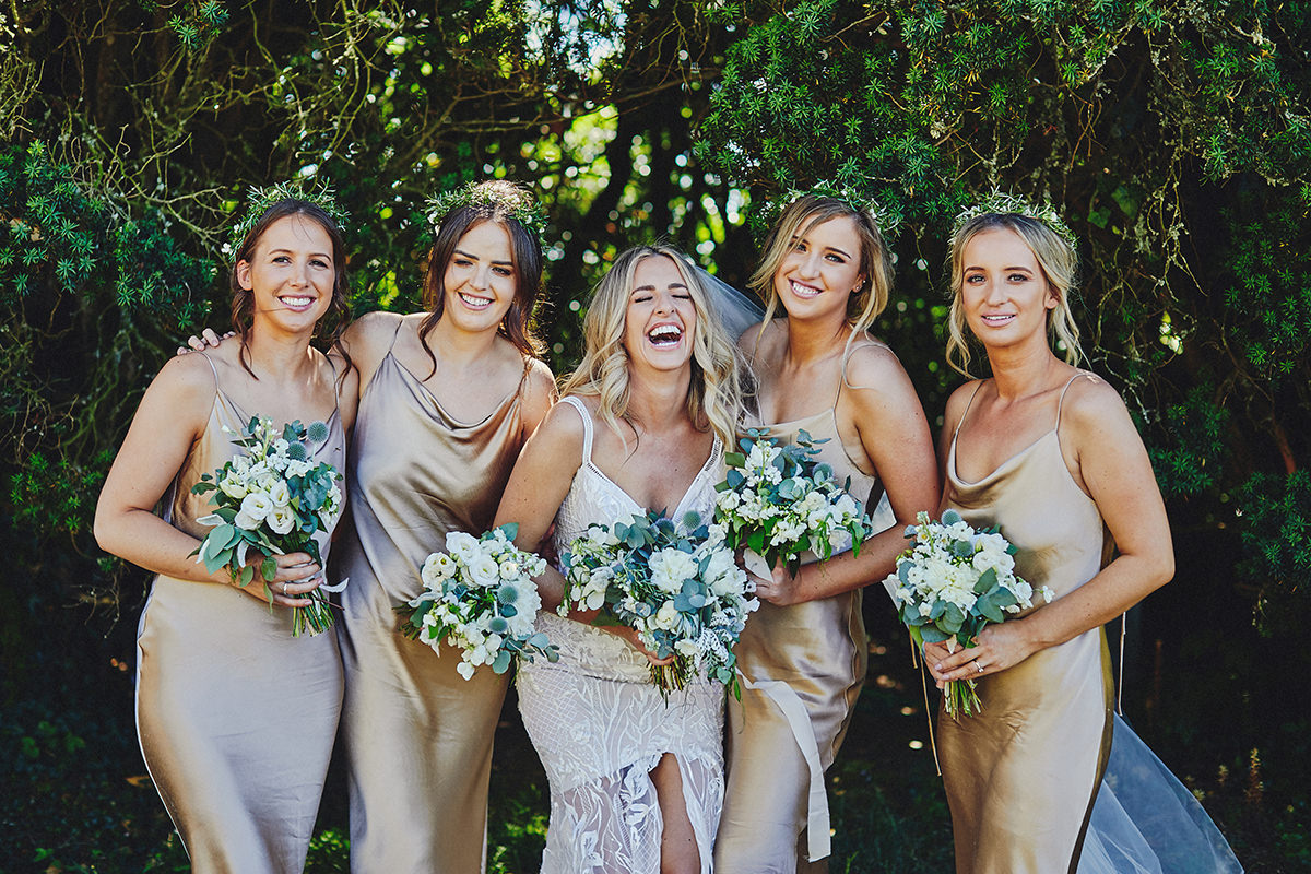 Bride and Bridesmaids Ireland