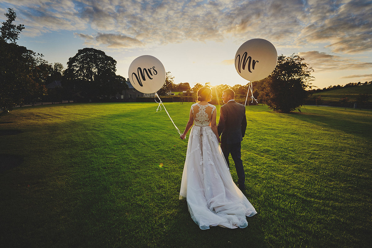 Baloons photo wedding