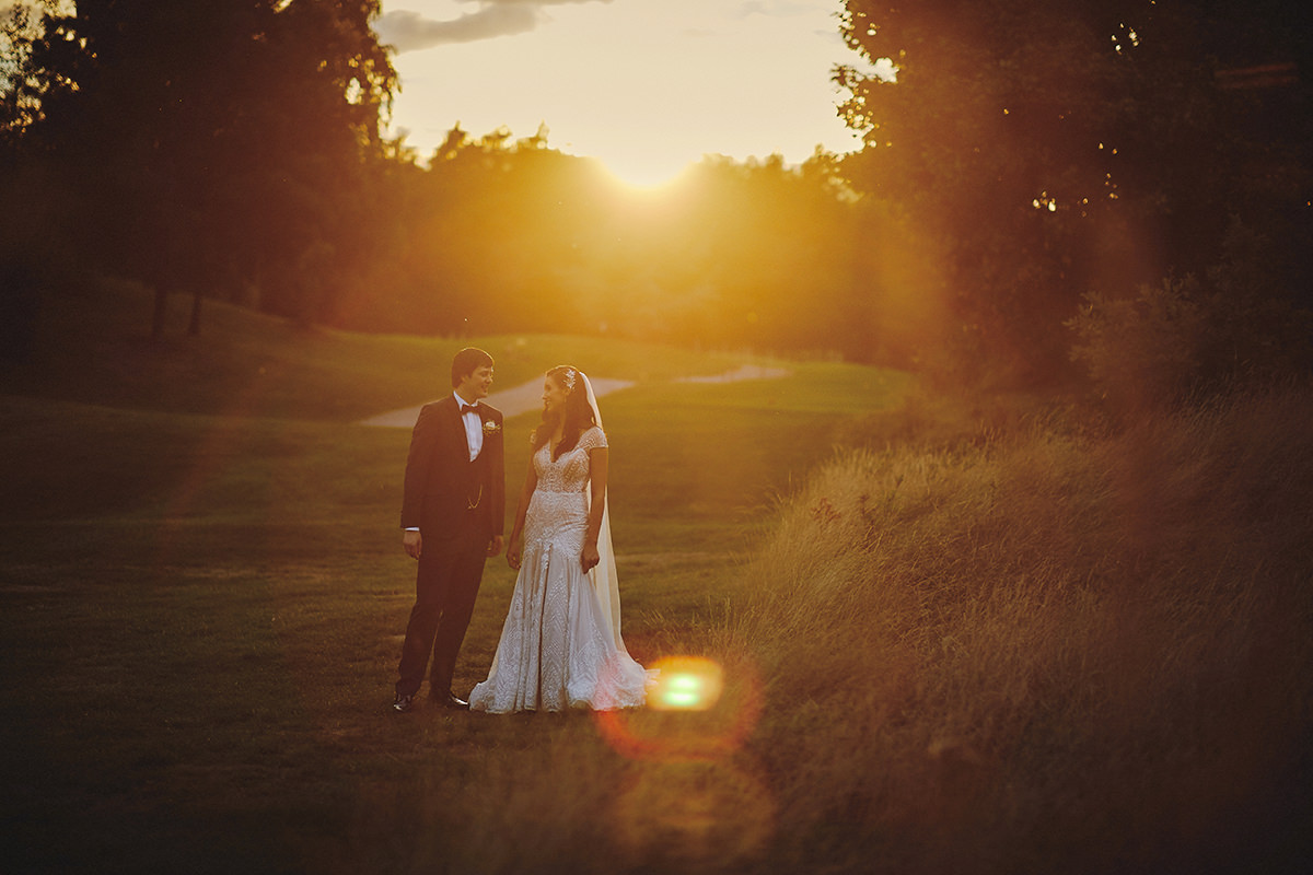 Mount Wolseley Wedding Sunset