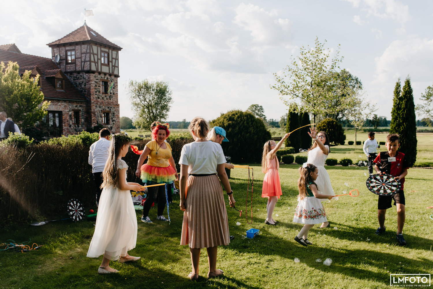 Lawn Games wedding