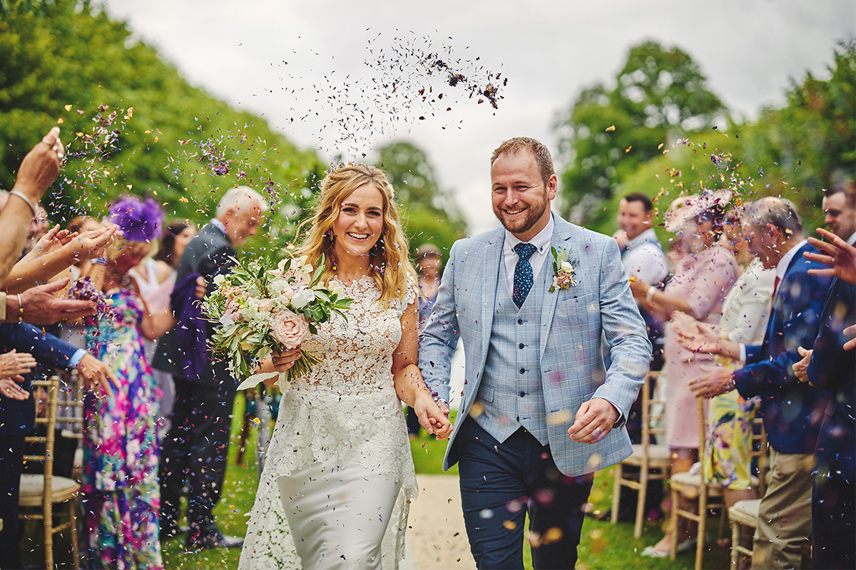 Confetti Photo Wedding
