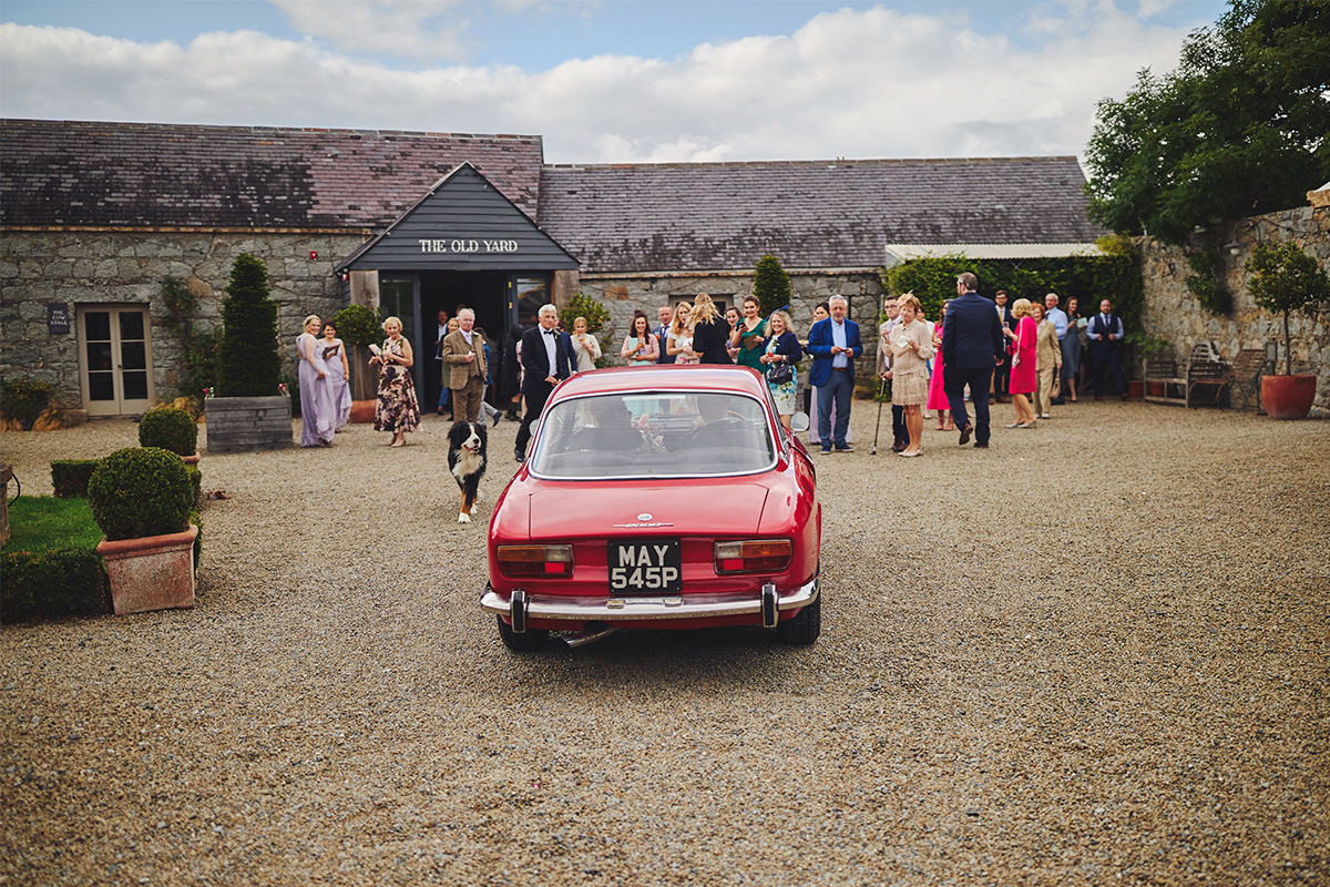 Alfa Romeo Wedding Car