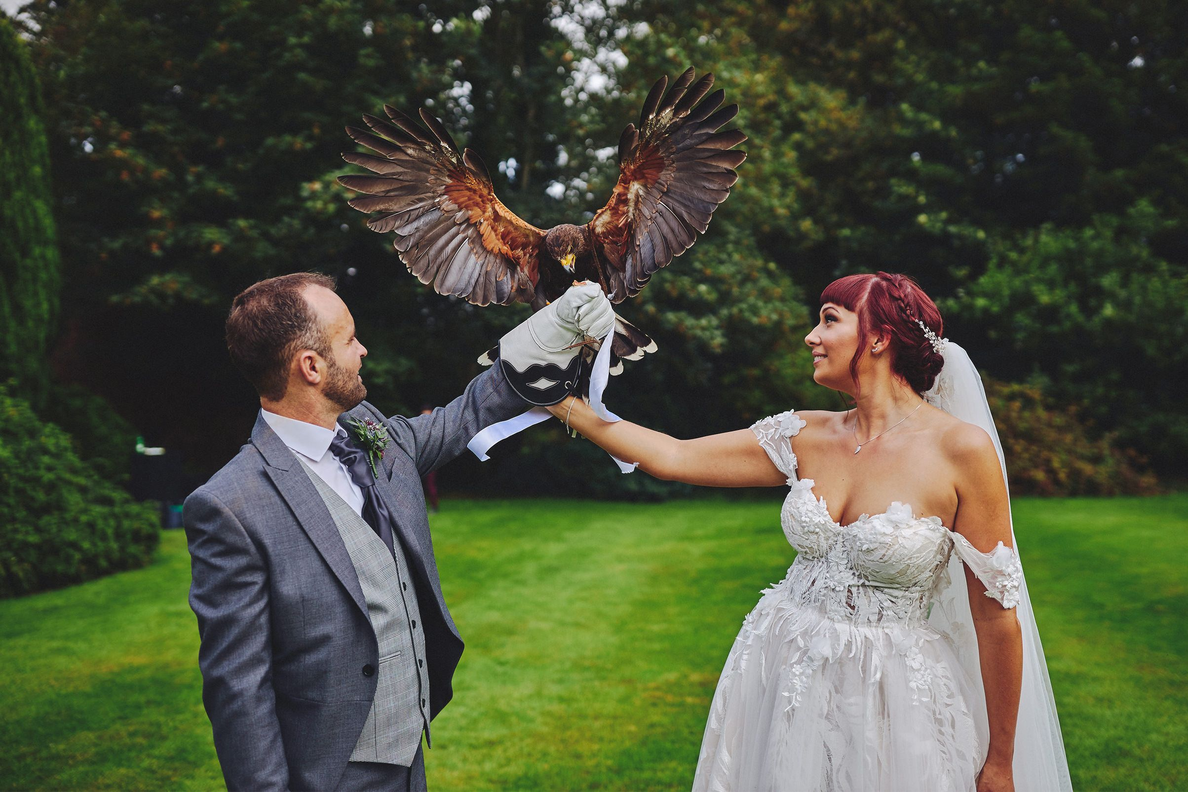 Waterford Castle Outdoor Wedding Ceremony
