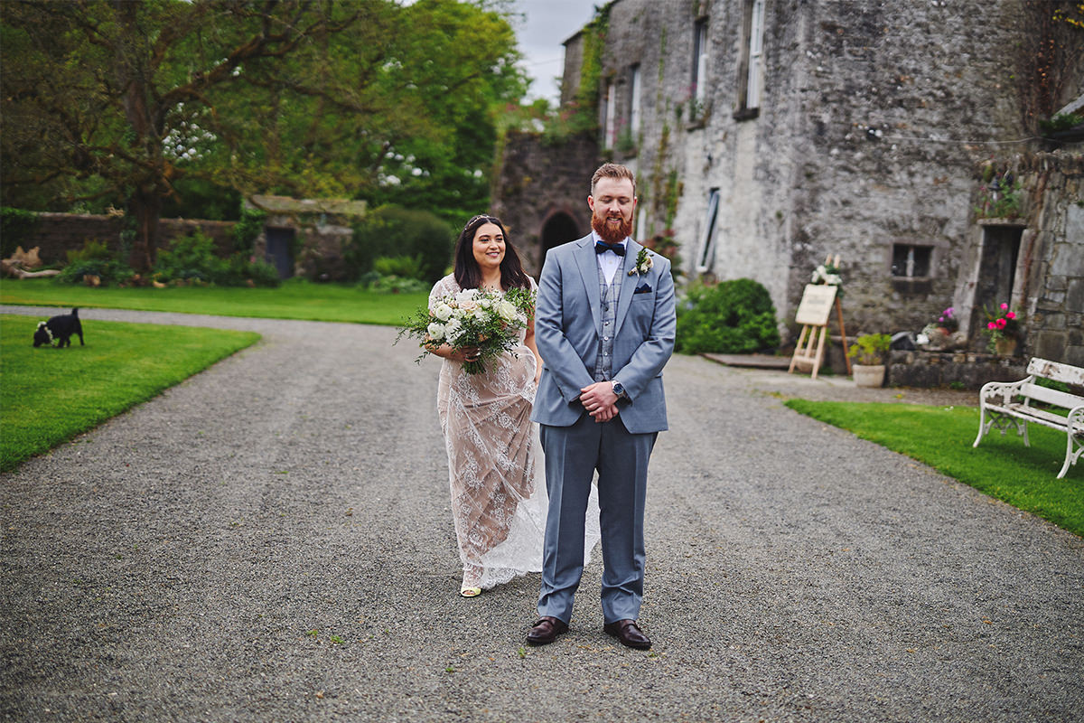 Outdoor Durhamstown Castle Wedding 45