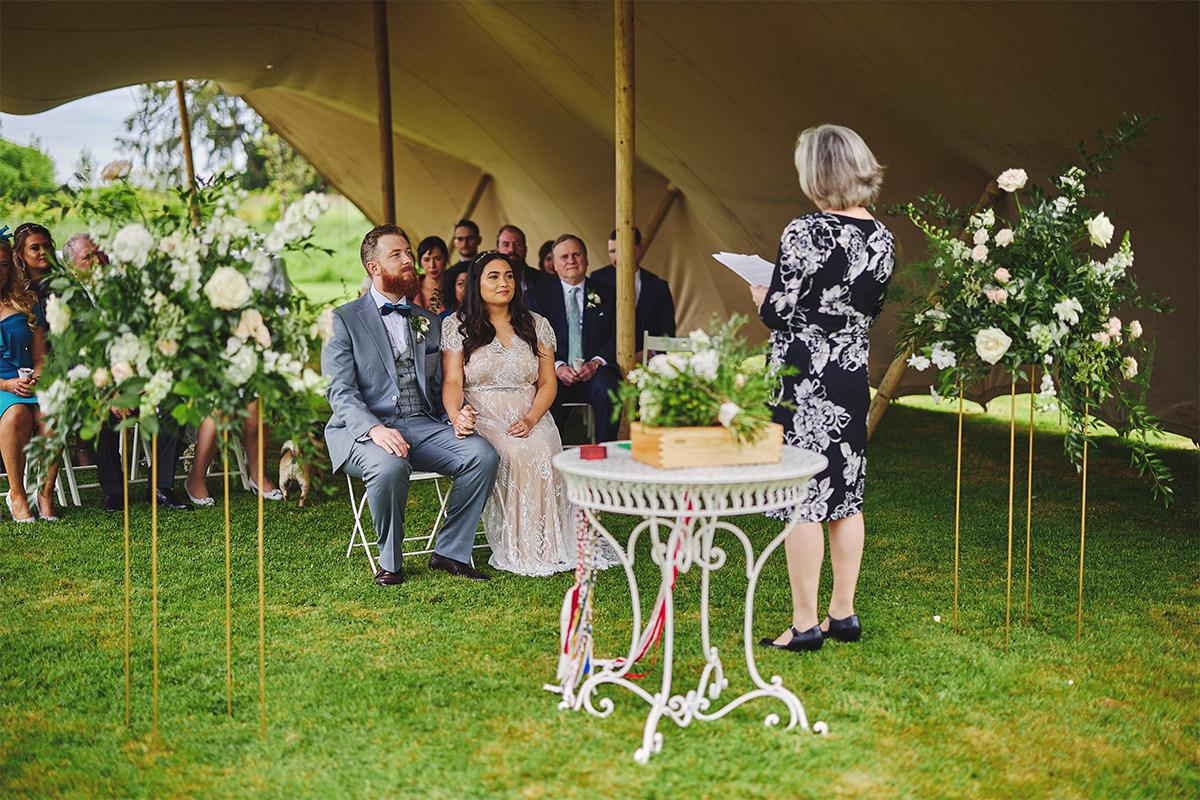 Outdoor Durhamstown Castle Wedding 57