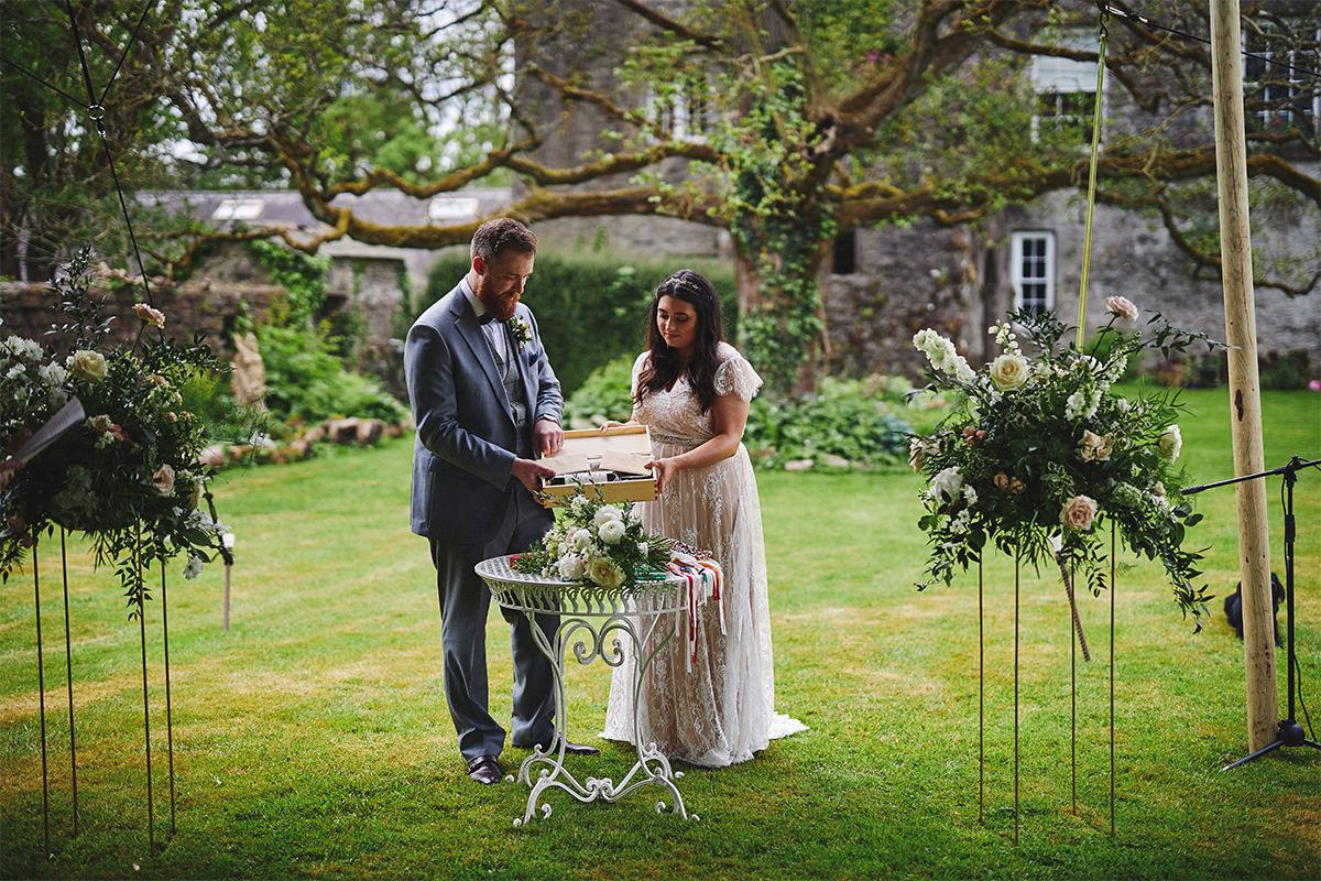 Outdoor Durhamstown Castle Wedding 81