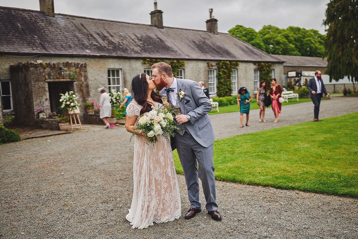 Outdoor Durhamstown Castle Wedding 95
