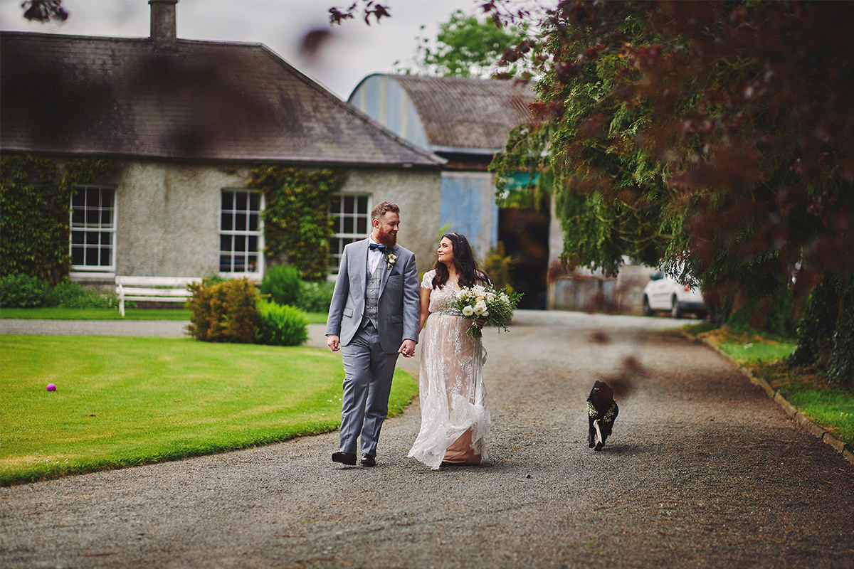 Outdoor Durhamstown Castle Wedding 98