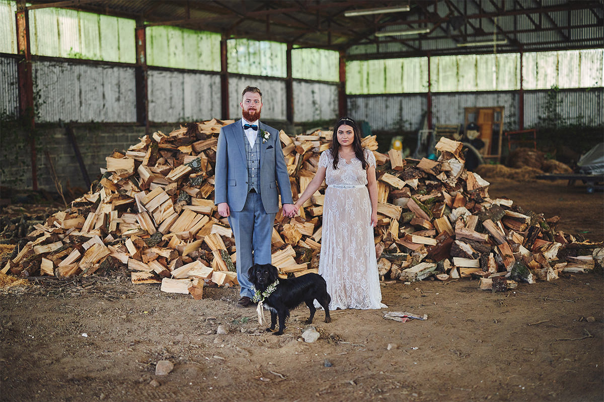Barn Quirky wedding photos