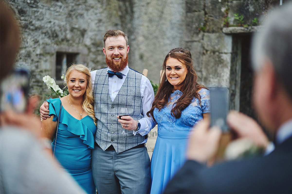 Outdoor Durhamstown Castle Wedding 138