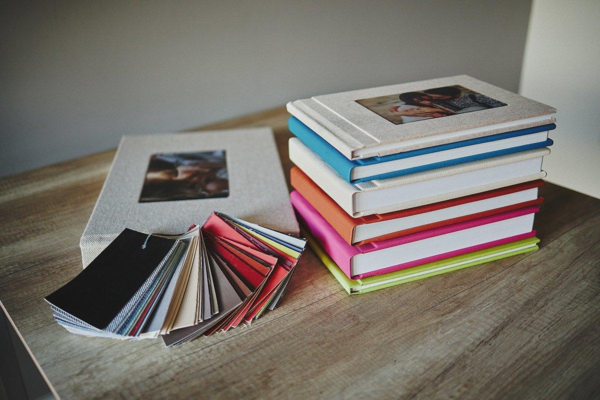 Wedding albums cover colours 90