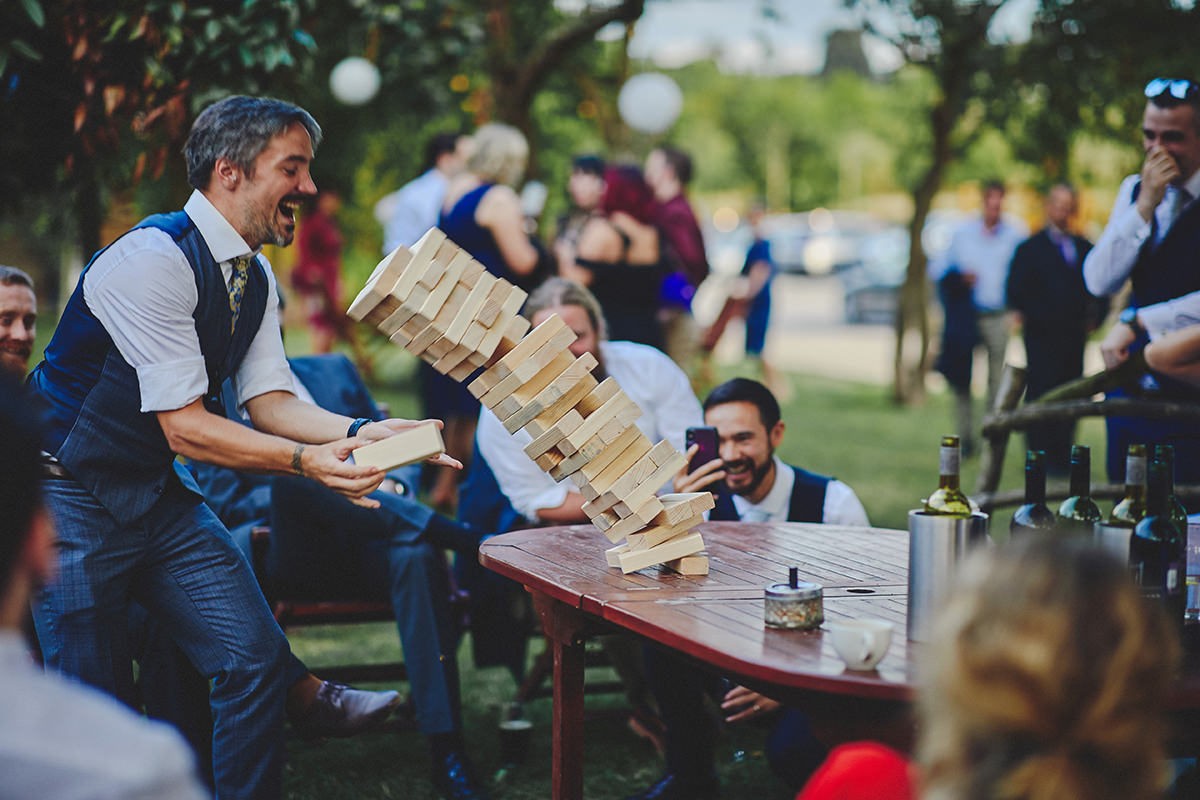 Jenga wedding games