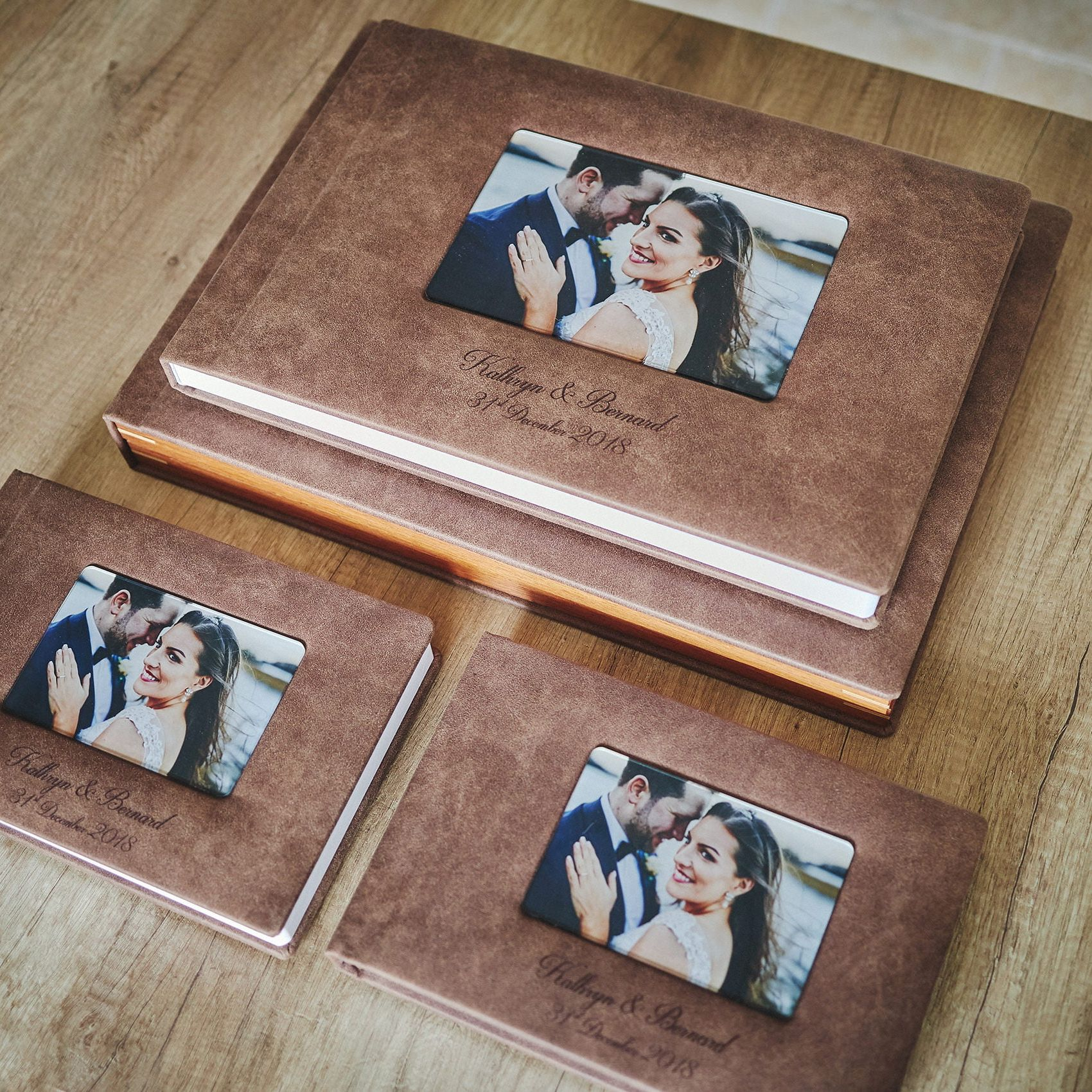 1 Standard and 2 Parents wedding albums (60 pages-150 photos) 1