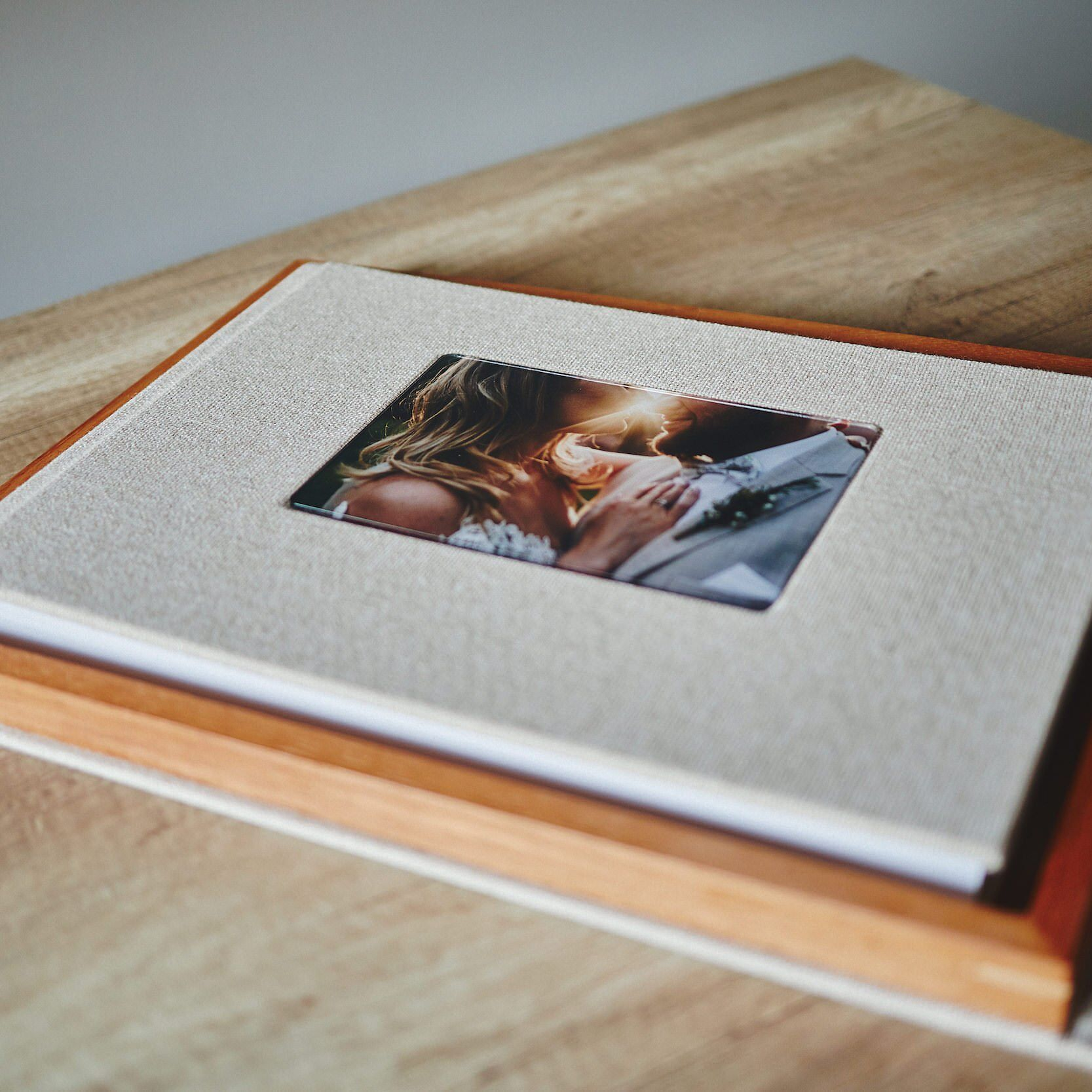 Most Popular Wedding Album + Wooden Box Bundle 4