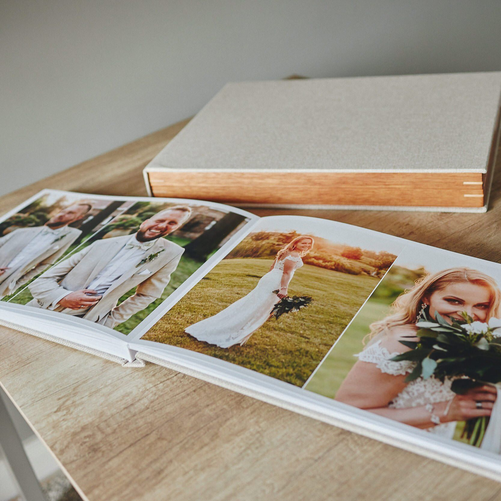Most Popular Wedding Album -  30x45cm (60 pages-150 photos) 4