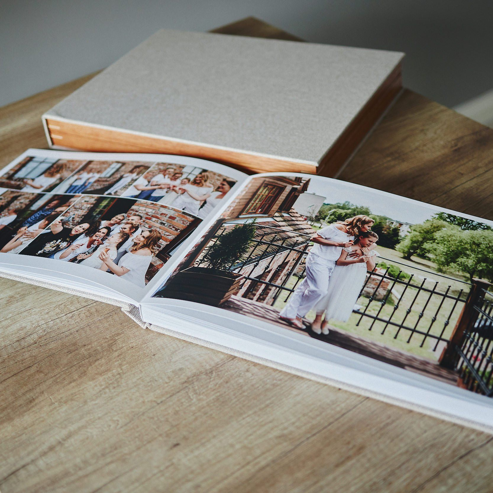 1 Standard and 2 Parents wedding albums (40 pages-100 photos) 7