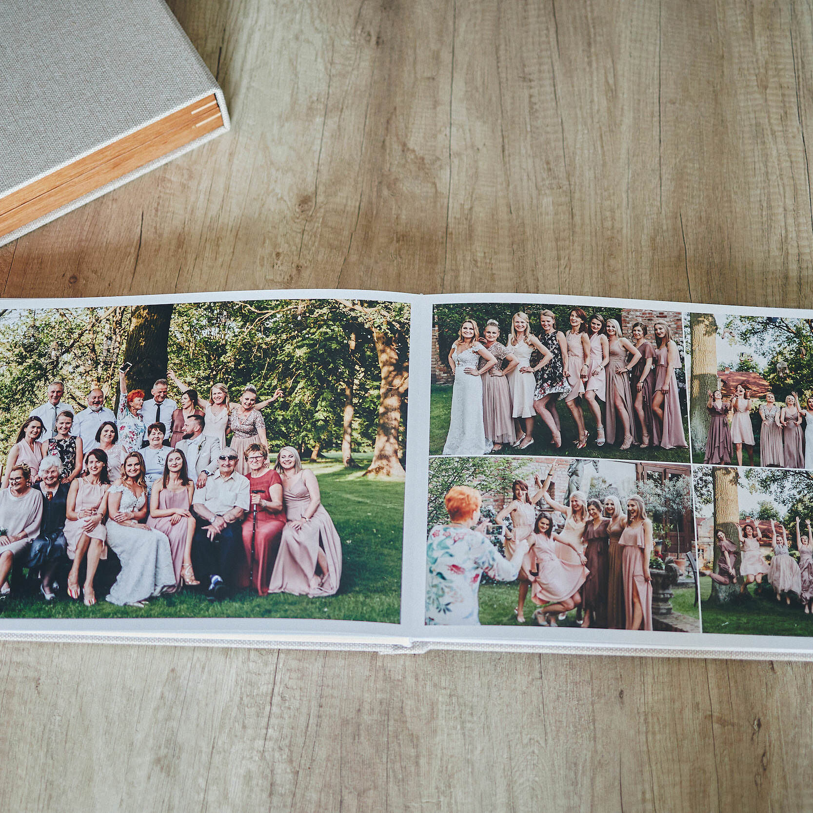 Most Popular Wedding Album -  30x45cm (60 pages-150 photos) 2
