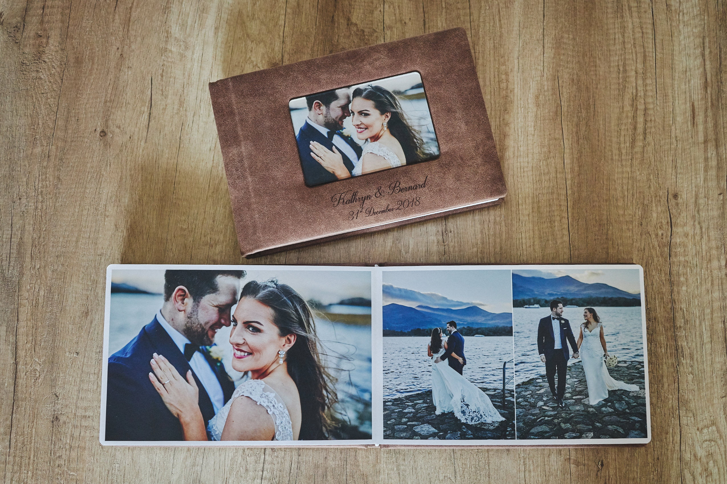 1 Standard and 2 Parents wedding albums (60 pages-150 photos) PLAN 7