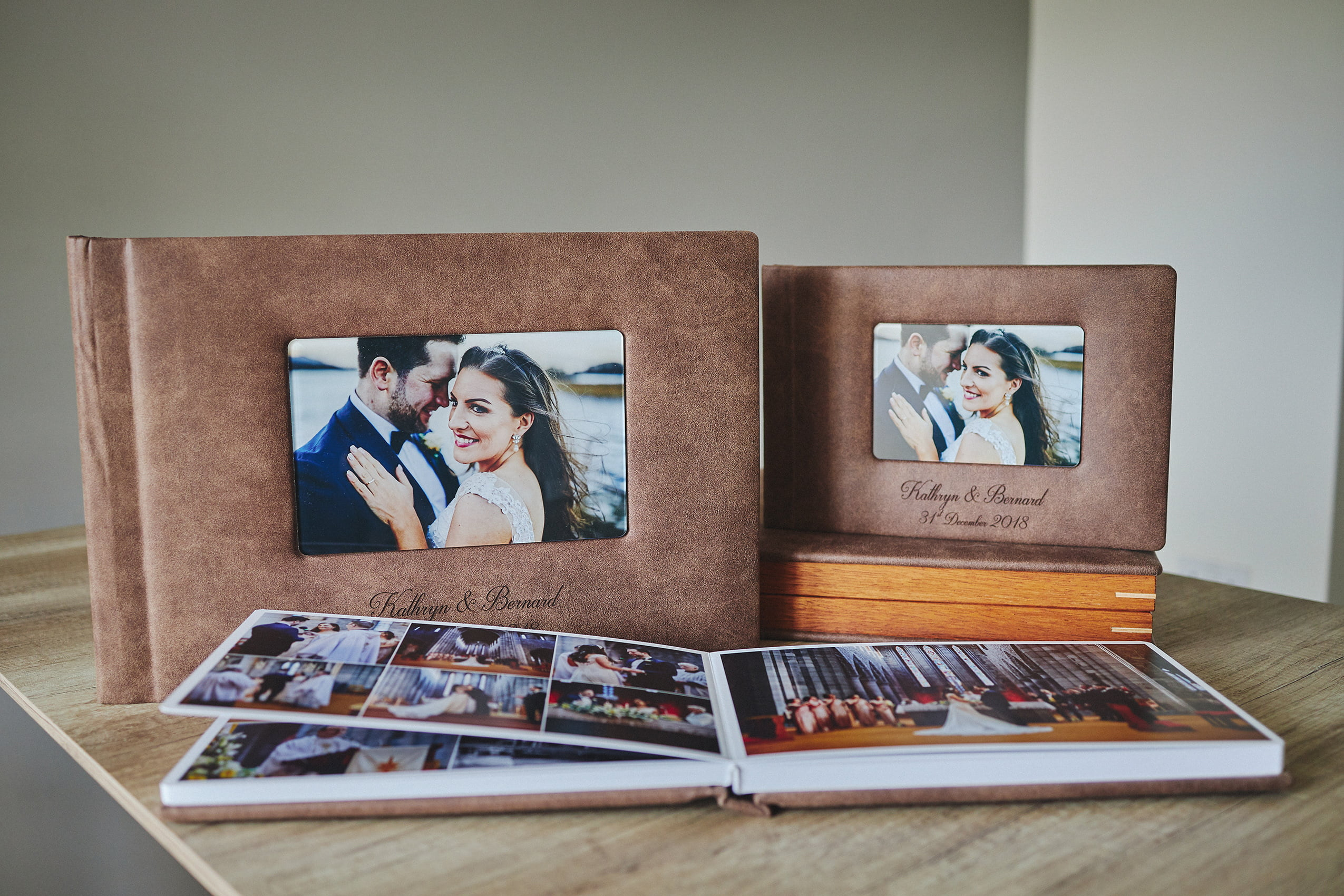 1 Standard and 2 Parents wedding albums (60 pages-150 photos) PLAN 2